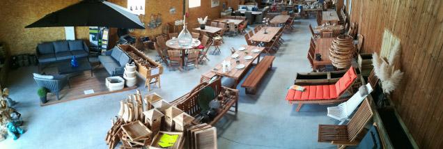 halle meubles mobilier jardin