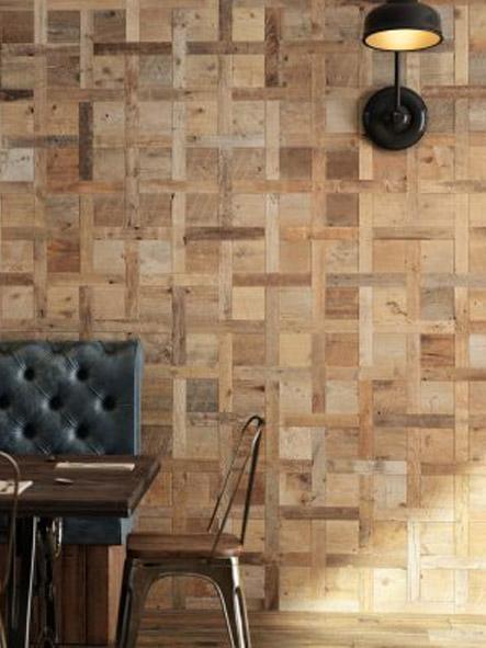 revêtements muraux bois massif 3d