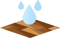 sols résistants eau
