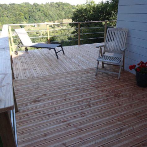 terrasse bois pin douglas classe 3 koh-po Honfleur 2