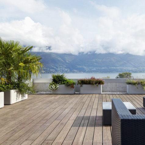terrasse écologique en bambou gris naturel koh-po Honfleur 6