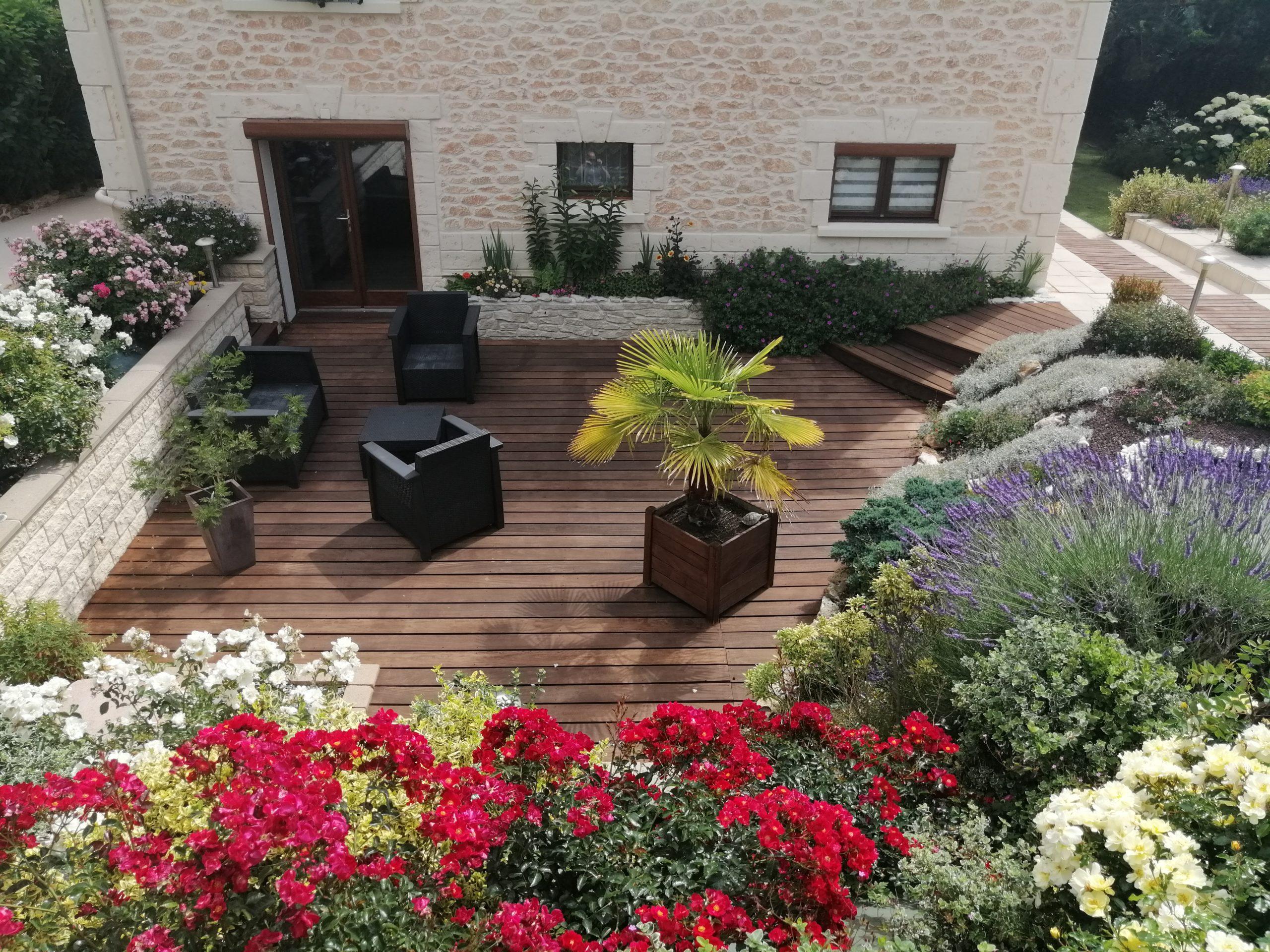 Terrasse bois en exotique deauville-le havre-caen