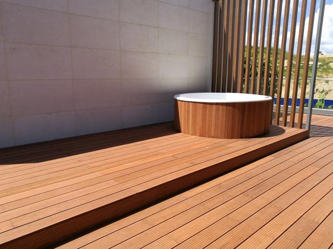 Terrasse en bambou, alternative aux bois exotiques